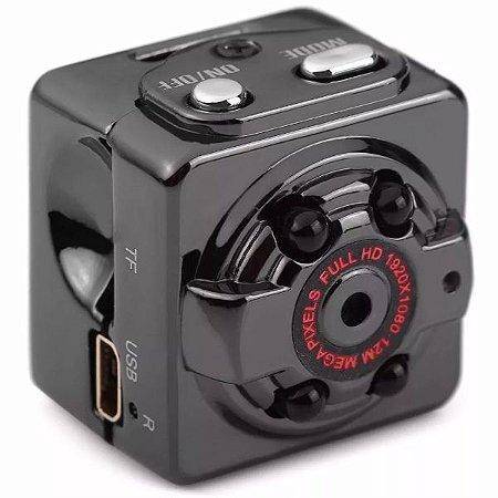 Micro Câmera Espiã Visão Noturna Sq8 Full Hd 1080p Infra