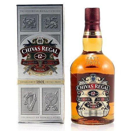 Whisky Chivas Regal 12 Anos Escocês 1000 Ml
