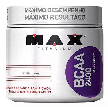 Bcaa 2400 450 Cápsulas - Max Titanium