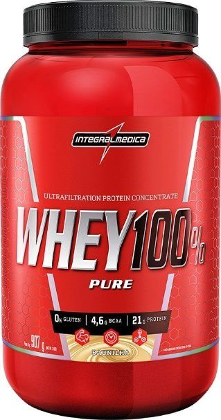 Whey Protein 100% Pure 907g - Integral Medica