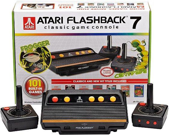Atari Game Console Clássic Flashback 7 com 101 jogos