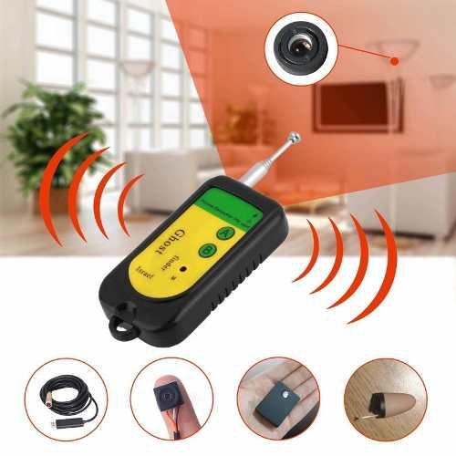Detector de transmissores e câmeras sem fio - Contra-espionagem