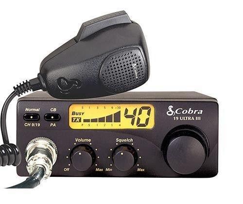 Rádio Px Cobra 19 Ultra III 40 Canais Rádio Amador