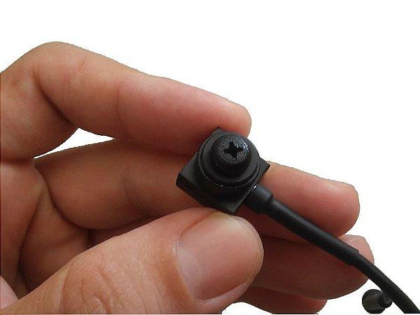 Micro Câmera espiã em formato de Parafuso