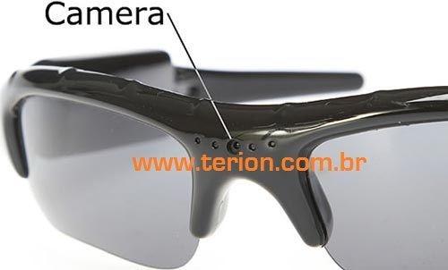 Óculos Filmadora Espião com câmera Esportivo