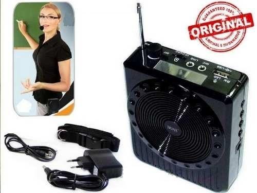 Amplificador Megafone - Para professores e palestrantes