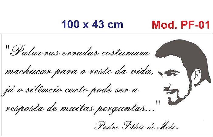 Adesivo Decorativo Parede Frases Padre Fábio De Melo - 138