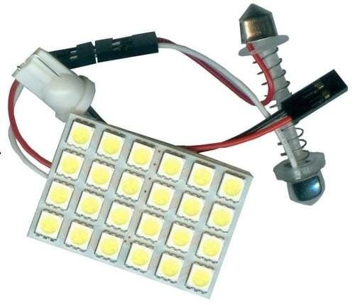 Placa de Led 24 SMD 5050 Torpedo T10 69