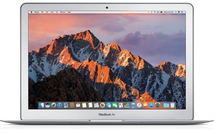 MacBook Air 13 MQD32BZ/A Intel Core i5 1,8GHz, 8GB 128GB SSD Intel HD 6000 - MQD32