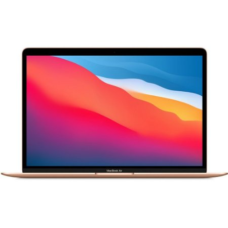 Apple Macbook Air M1 8gb 256gb Ssd Gold Dourado 2020 2021 MGND3BZ/A MGND3LL/A MGND3