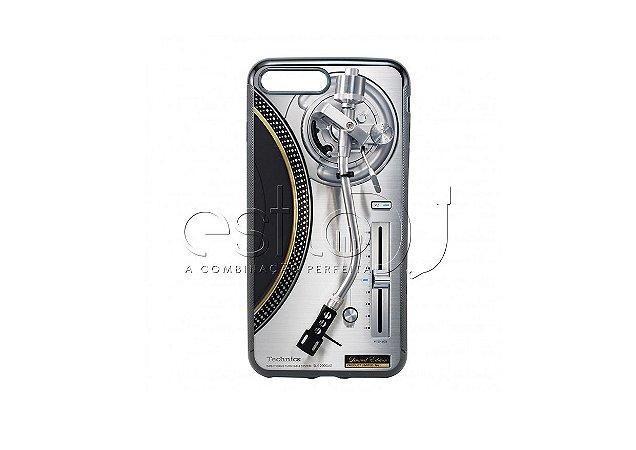 Capa de celular para DJ modelo iPhone 7 Plus - Toca Discos Technics SL-1200GAE