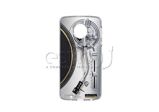 Capa de celular para DJ modelo Moto G5 Plus - Toca Discos Technics SL-1200GAE