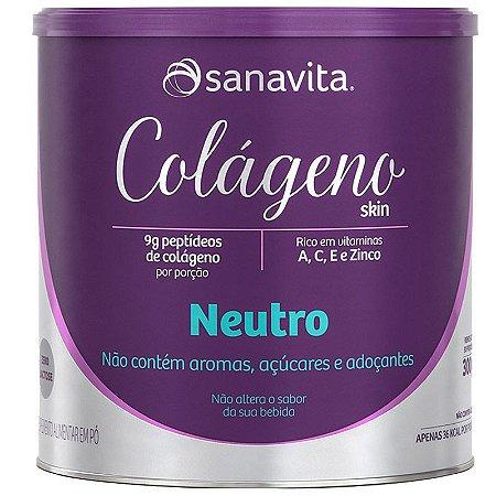 Colágeno Skin sabor Neutro - Sanavita - 300g