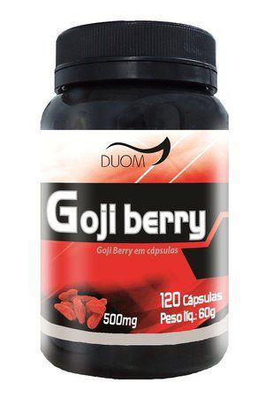 Goji Berry em cápsulas