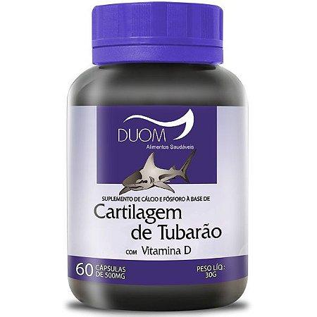 Cartcalcium - Cartilagem de tubarão 60 cápsulas de 500 miligramas