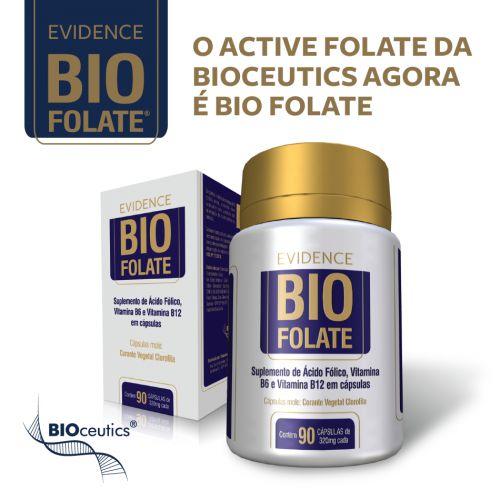 Bio Folate Bioceutics 90 cápsulas