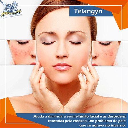 Telangyn para diminuição da rosácea