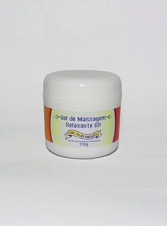 Gel de massagem para alívio da dor e inflamação 120g