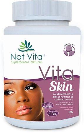Balas de colágeno Vita Skin Sabor Amora 60 unidades