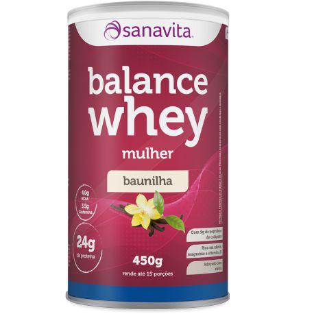 Balance Whey Mulher - Baunilha