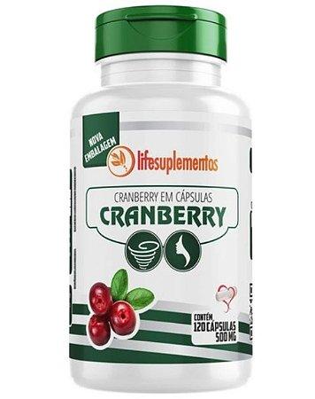 Cranberry em Cápsulas 500mg - 120 cápsulas