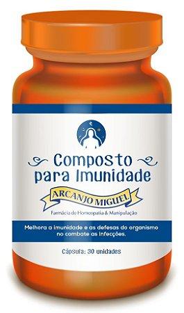 Composto para Imunidade 30 cápsulas