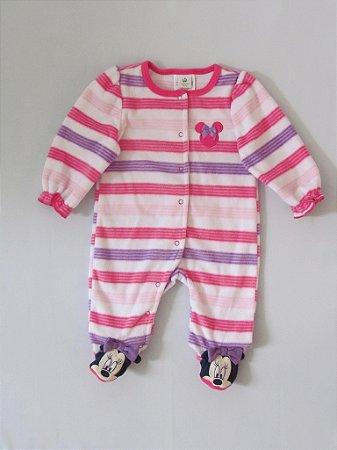 Disney Baby - Macacão Fleece Minnie