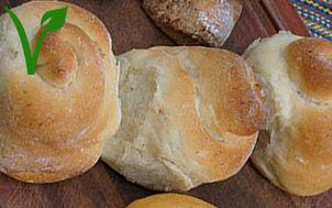 Pão vegano sem lactose