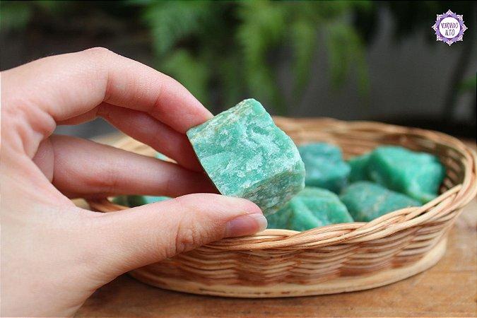 Amazonita Bruta Pequena (de 20g a 30g) | Pedra da Harmonia e Comunicação