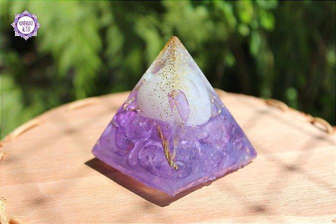Orgonite Pirâmide Transmutação | Purificação das Energias do Ambiente!