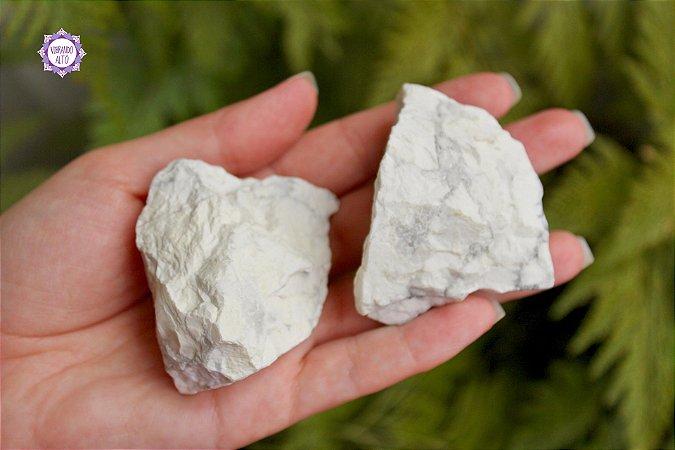 Howlita Bruta Pedra de 2018 (aprox. 68g) | Harmonia e Cura Emocional