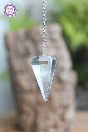 Pêndulo de Quartzo | Cristal de Limpeza, Purificação e Cura | Programável