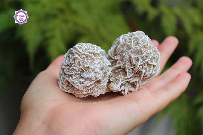 Rosa do Deserto 137g | Pedra do Propósito de Vida e Viagem Interdimensional!