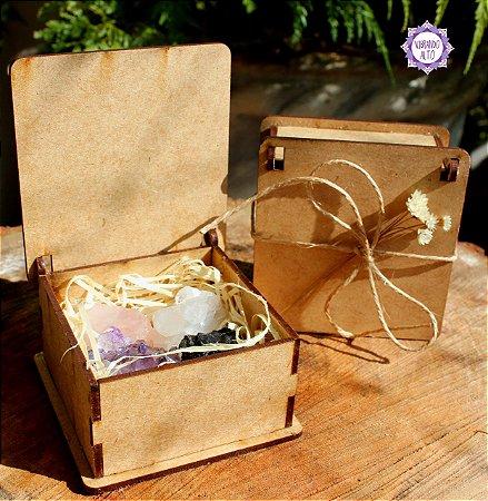 Mini Kit Essencial com Caixinha Especial | Proteção, Transmutação e Amor!