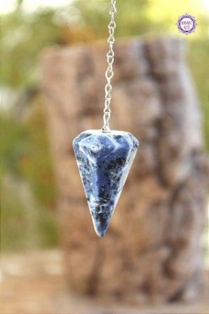 Pêndulo de Sodalita | Pedra da Intuição e Insight