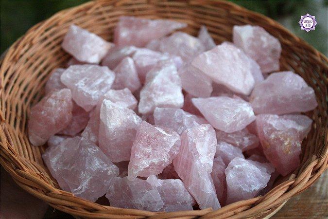 Quartzo Rosa Bruto (de 20g a 29g) | Cristal para o Amor e Cura Emocional