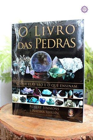 O Livro das Pedras - O que elas são e o que ensinam | COMPRE E GANHE 1 KIT 7 CHAKRAS