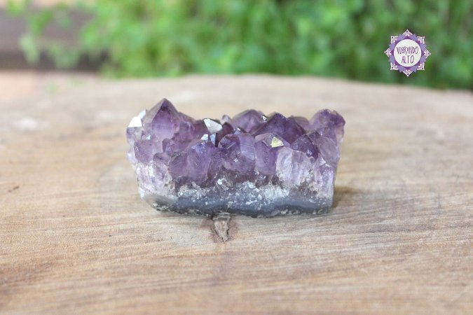 Drusa de Ametista 101g | Cristal de Proteção, Transmutação e Comunicação Divina