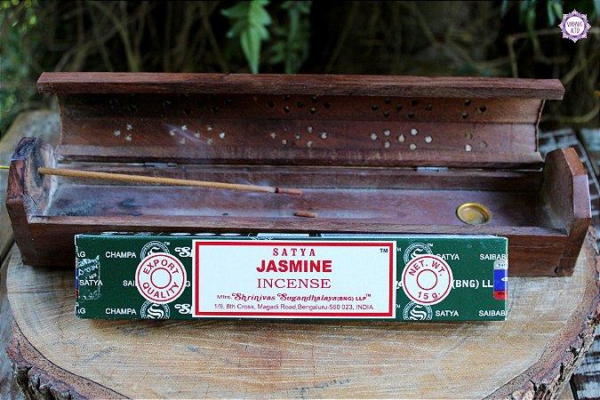 Incenso Importado Satya Jasmim caixa com 12 varetas