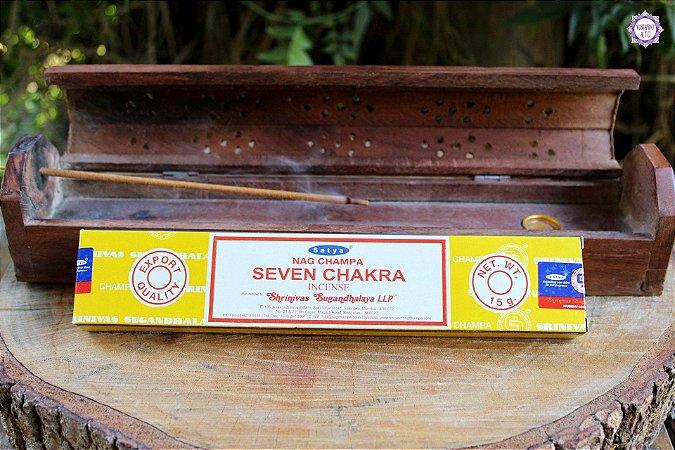 Incenso Importado Satya 7 Chakras caixa com 12 varetas
