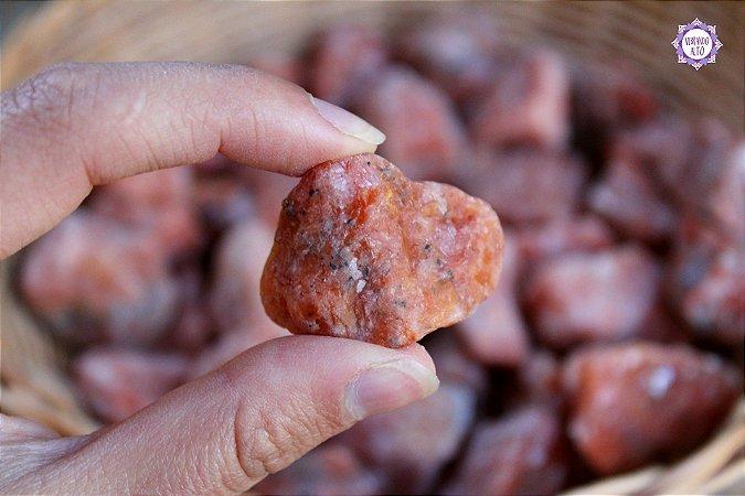 Calcita Laranja Bruta (2 a 4 cm a unidade) | Pedra para Criatividade e Autoconfiança