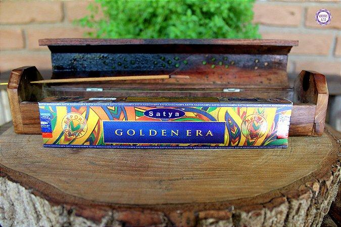 Incenso Importado Satya Era Dourada (Golden Era) caixa com 12 varetas