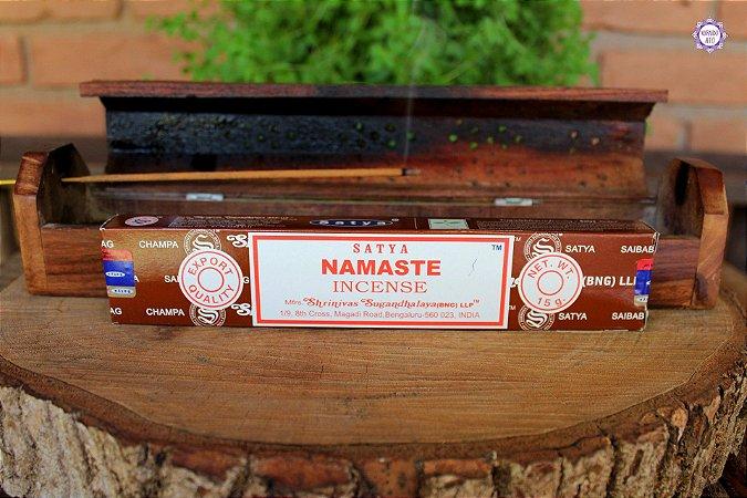Incenso Importado Satya Namaste caixa com 12 varetas