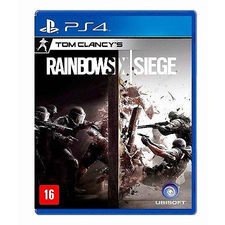 Jogo Tom Clancly's: Rainbow Six Siege - PS4