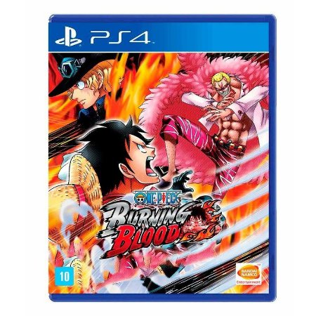 Jogo One Piece Burning Blood - PS4