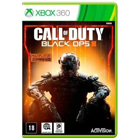 Jogo Call Of Duty Black Ops 3 Xbox 360