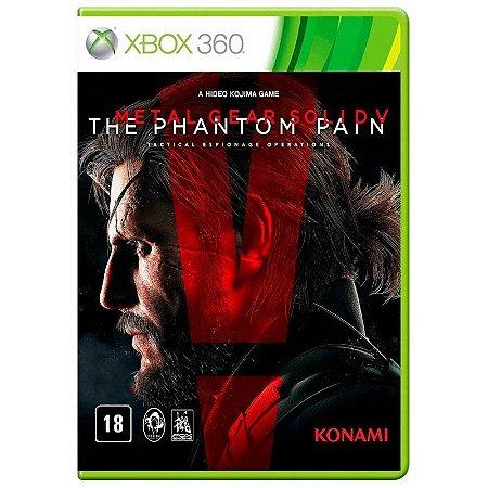 Jogo Metal Gear Solid V Phantom Pain Xbox 360 e Xbox One