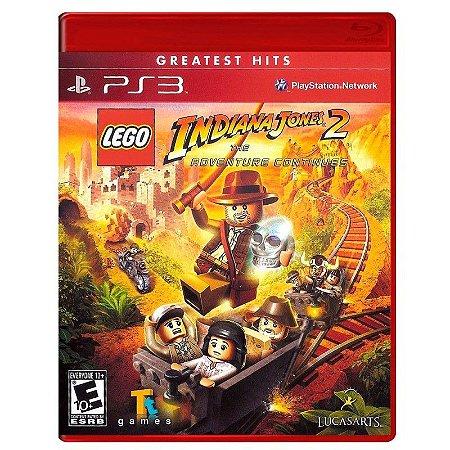 Jogo LEGO Indiana Jones 2: The Adventure Continues - PS3