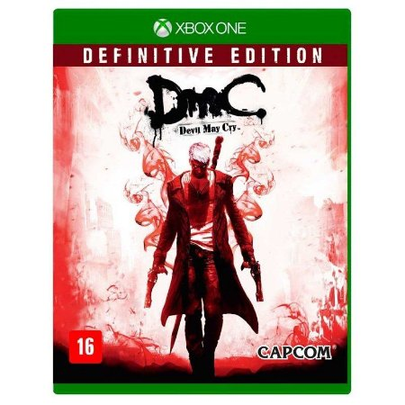 Jogo Dmc Devil May Cry Definitive Edition Xbox One