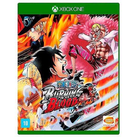 Jogo One Piece Burning Blood Xbox One Midia Física